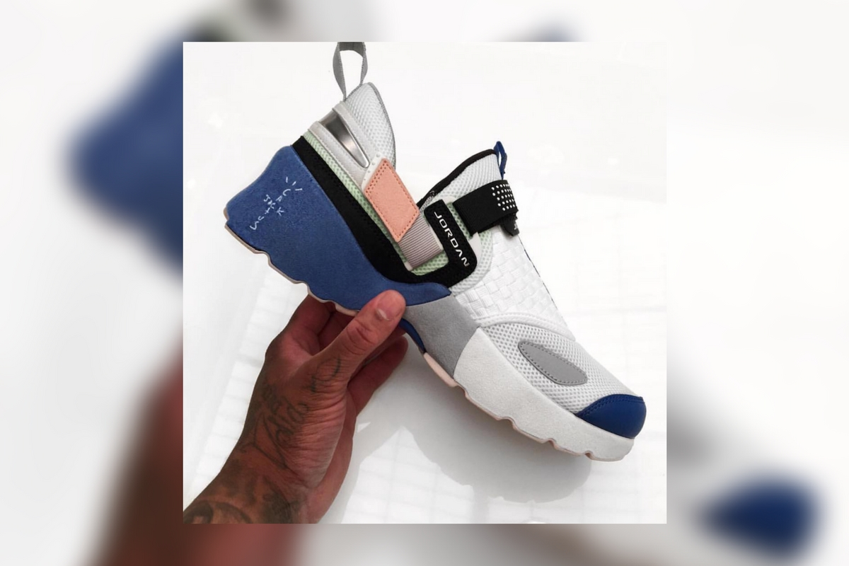 Sneak Peak: Travis Scott x Air Jordan Trunner LX