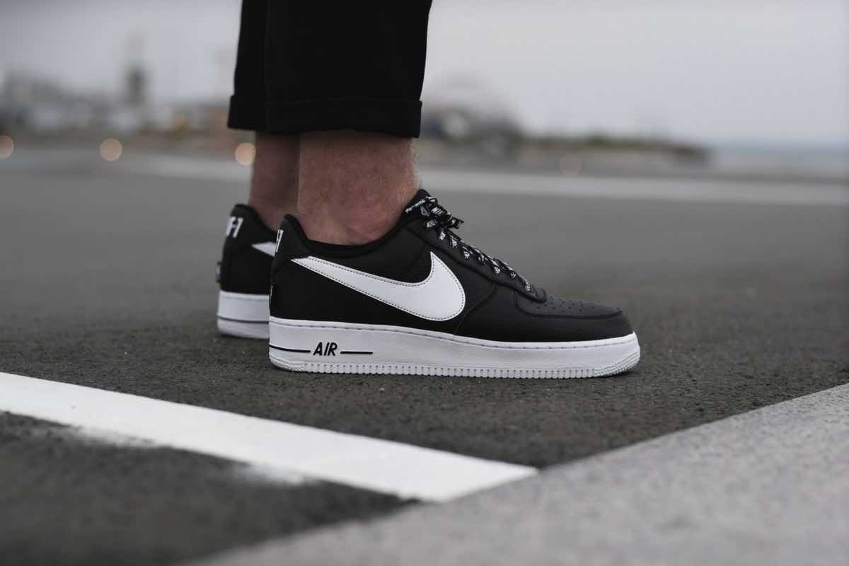 "On feet: Nike Air Force 1 Low ""NBA"" Pack"