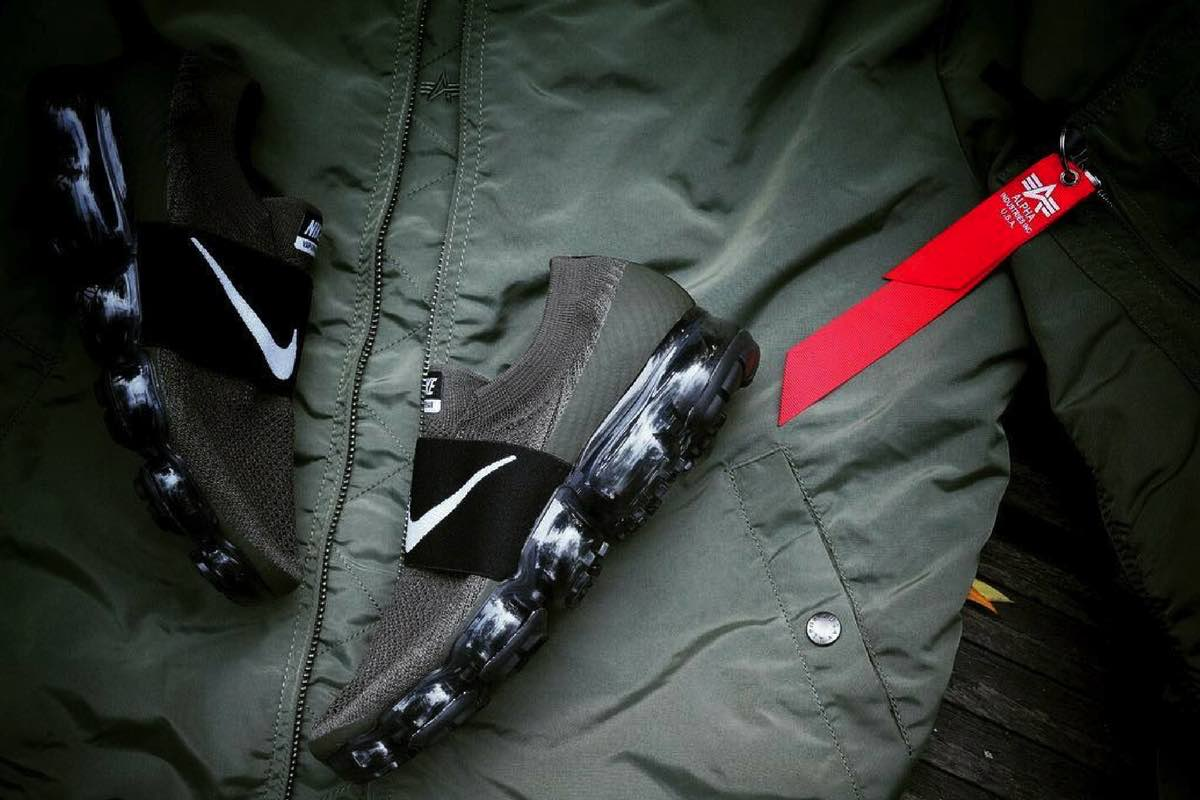 "Sneak Peek: Nike Air VaporMax Strap ""Olive"""