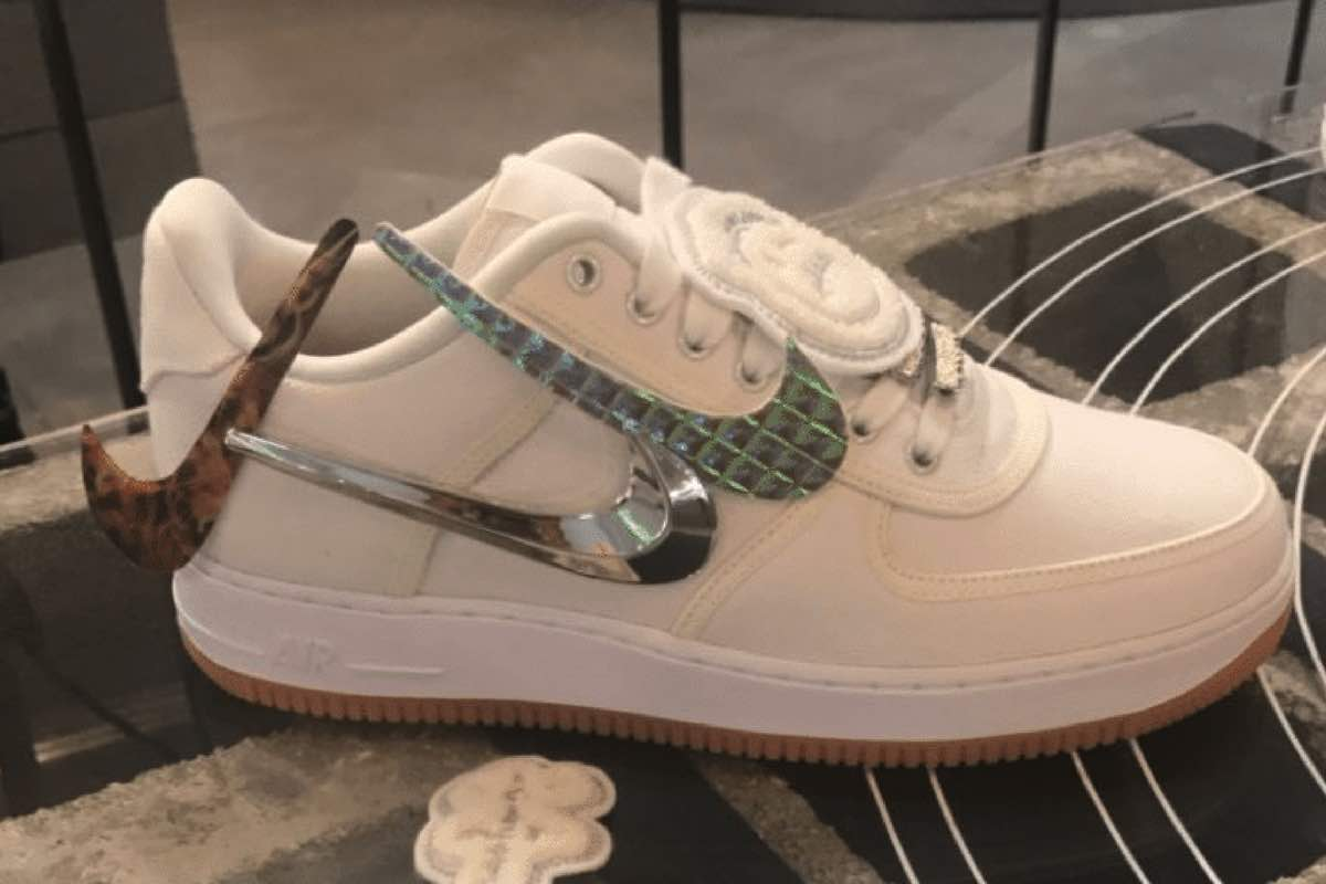 Sneak Peek: Travis Scott x Nike Air Force 1