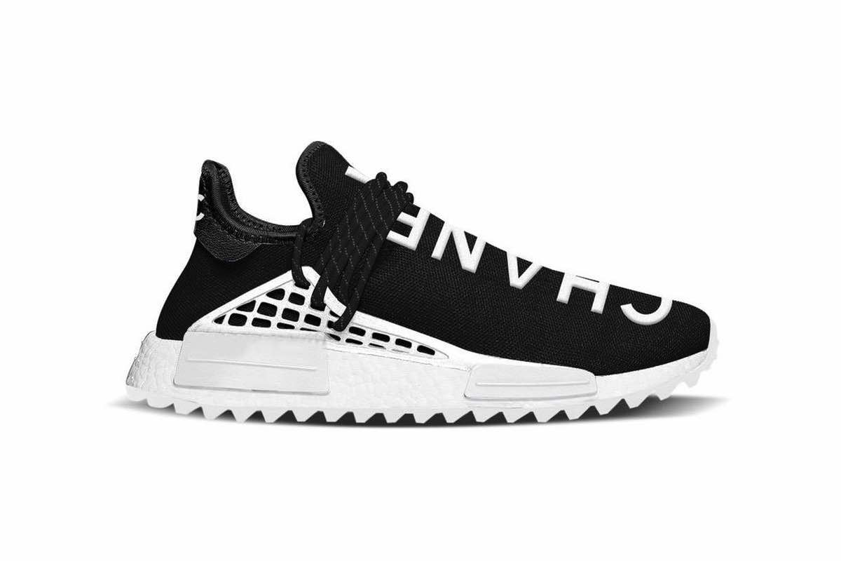 Sneak Peek: Chanel x Pharrell Williams x adidas NMD Human Race TR