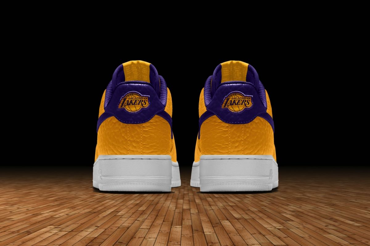 Design Nike Air Force 1 med NBA Team Logoer