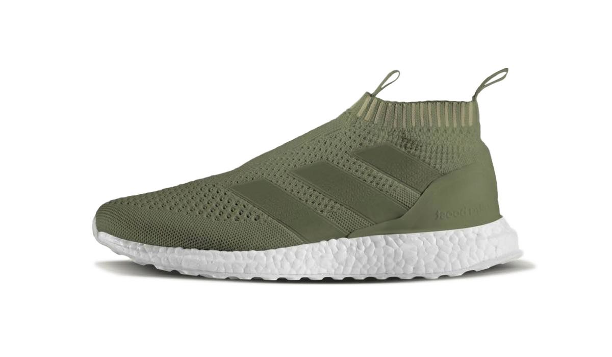 adidas ace 16 purecontrol ultra boost olive. Black Bedroom Furniture Sets. Home Design Ideas
