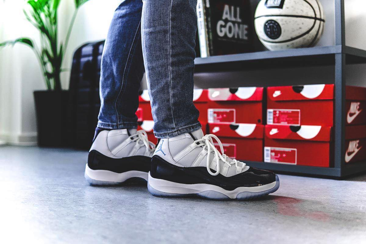 "On Feet: Nike Air Jordan XI ""Win Like '82"""
