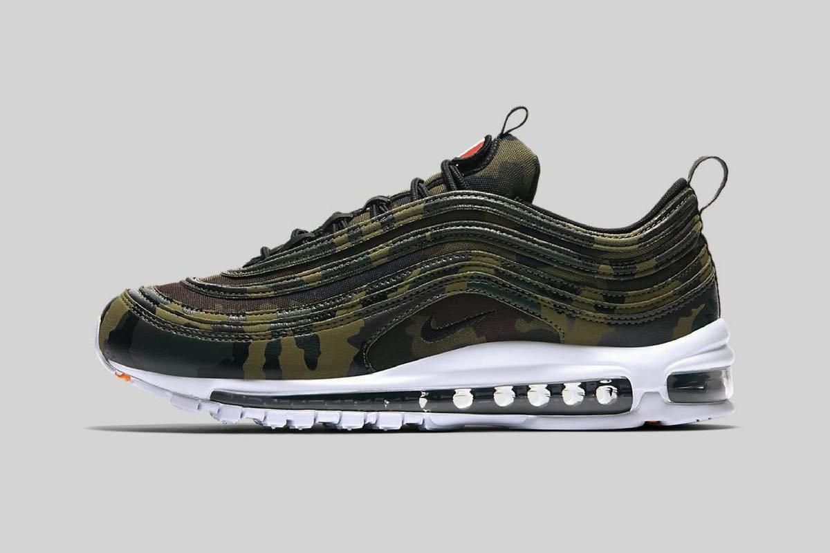 """Sneak Peek: Nike Air Max 97 """"Country Camo"""" Pack"""