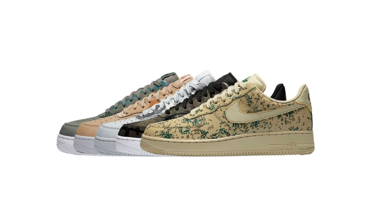 nike air Force 1 damer camo