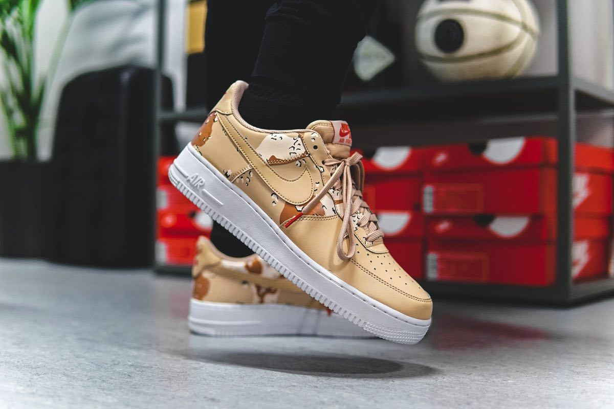 """On Feet: Nike Air Force 1 Low """"Bio Beige"""""""