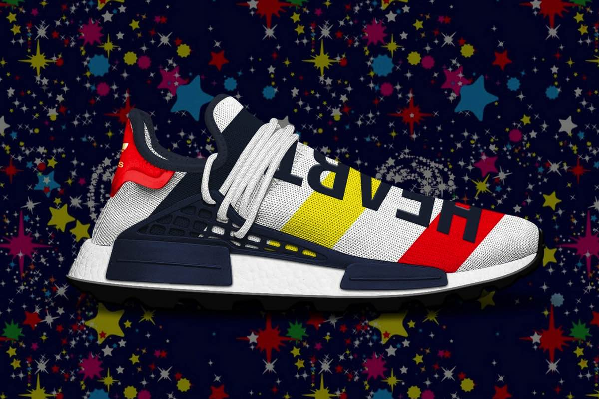 "Sneak Peek: BBC x adidas NMD Hu Trail ""Heart/Mind"""