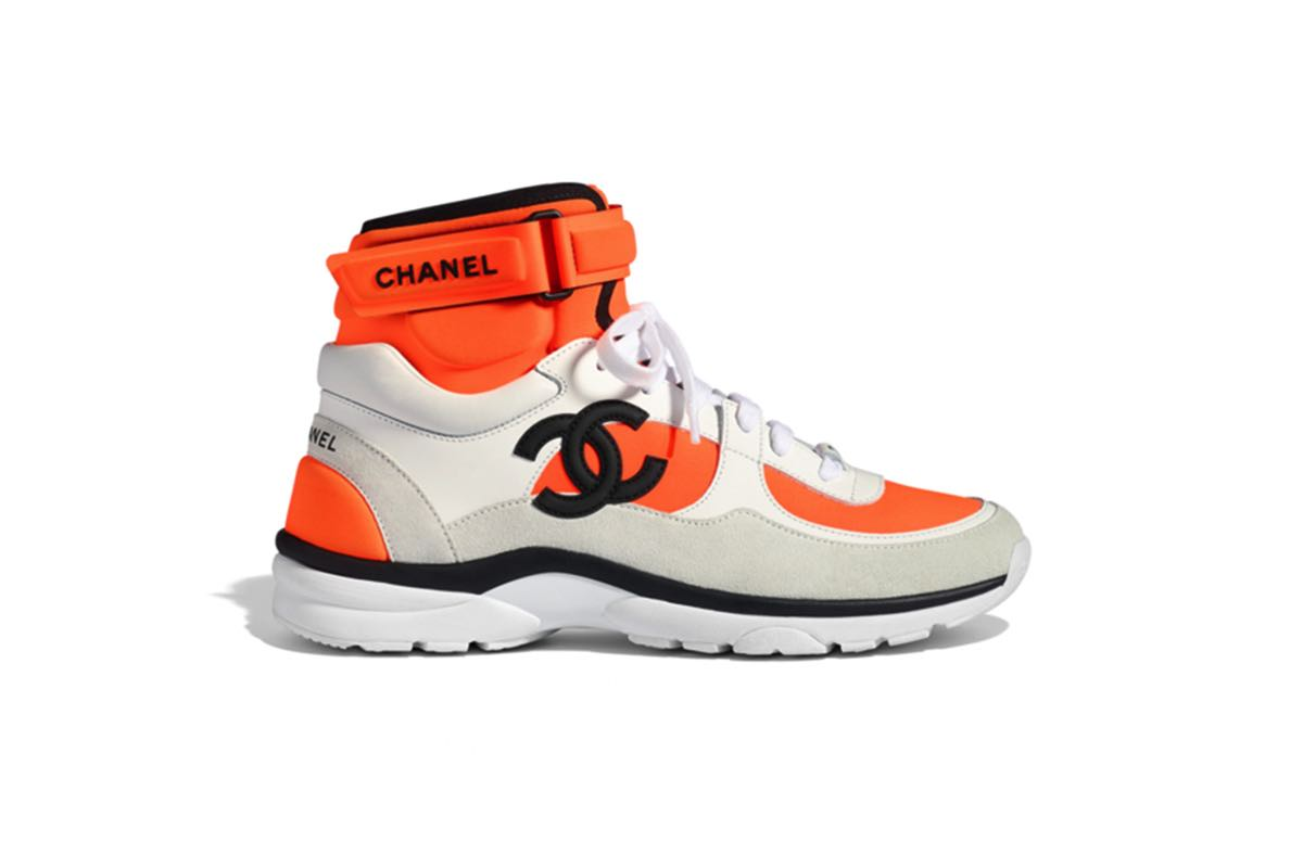 Se Chanels tre nye SS18 sneakers