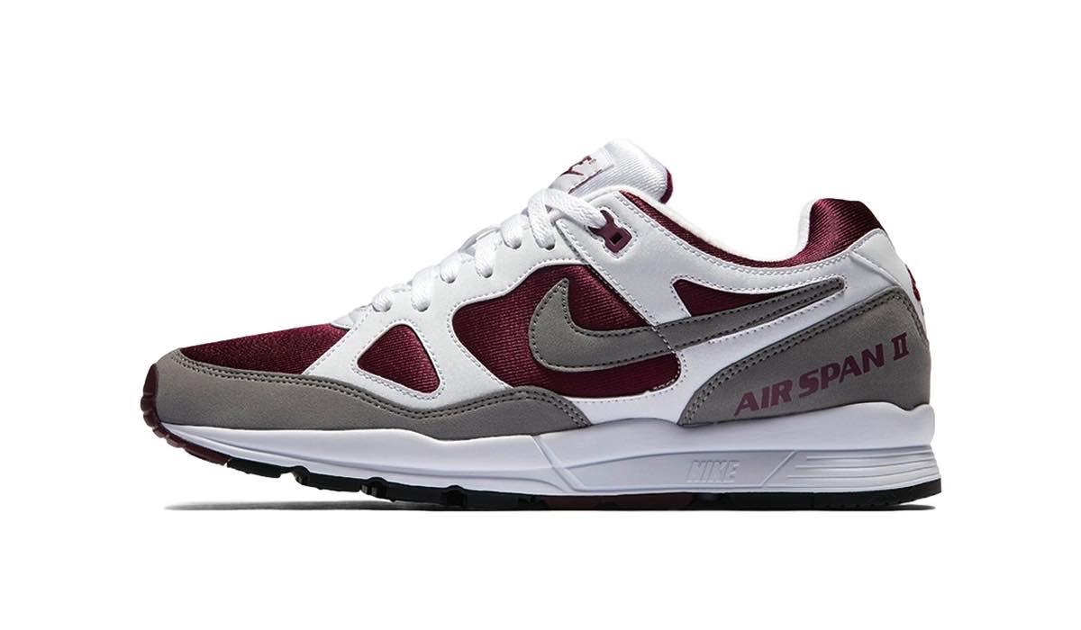 "Nike Air Span II ""Dust Bordeaux"""
