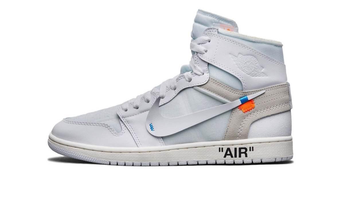 "OFF-WHITE x Nike Air Jordan 1 ""White"""