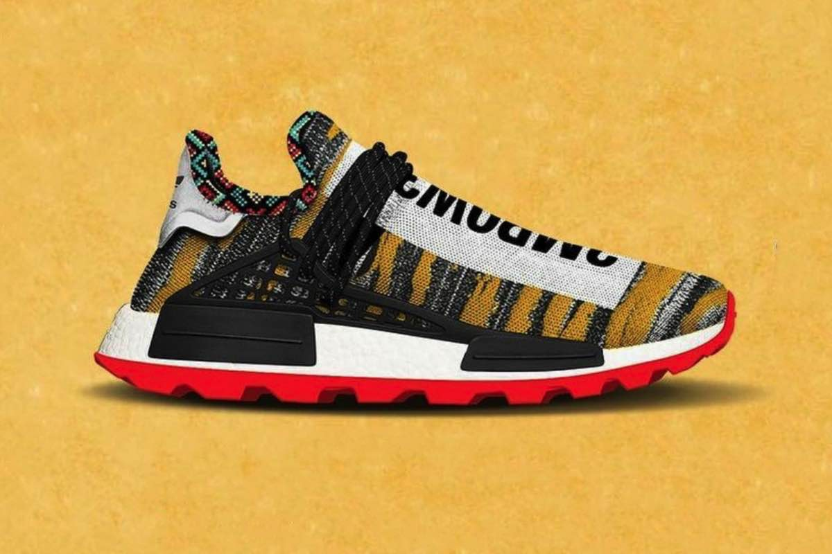 "Sneak Peek: adidas x Pharrel NMD Hu ""Afro"" Collection"