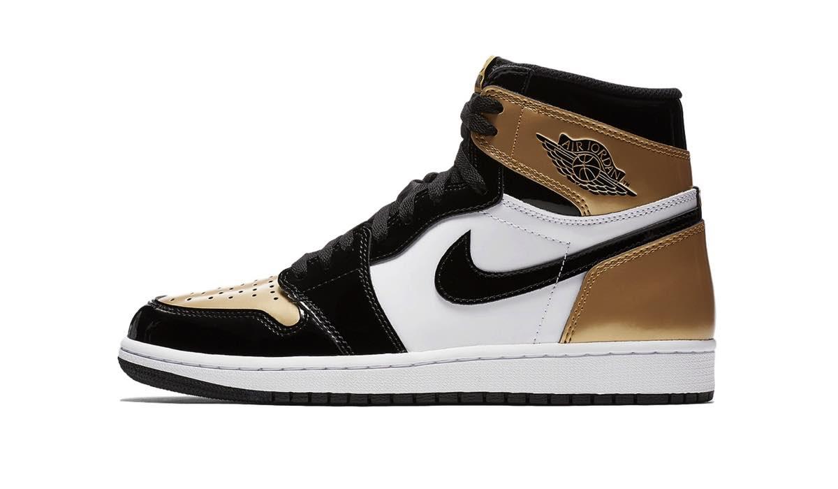 """Nike Air Jordan 1 """"Gold Toe"""""""