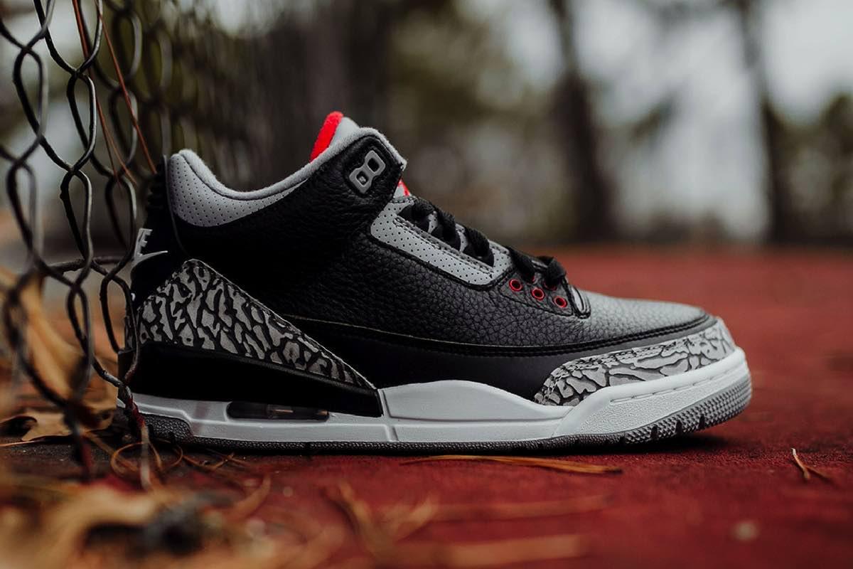 """Eksklusivt: Køb Air Jordan 3 """"Black Cement"""" tidligt"""