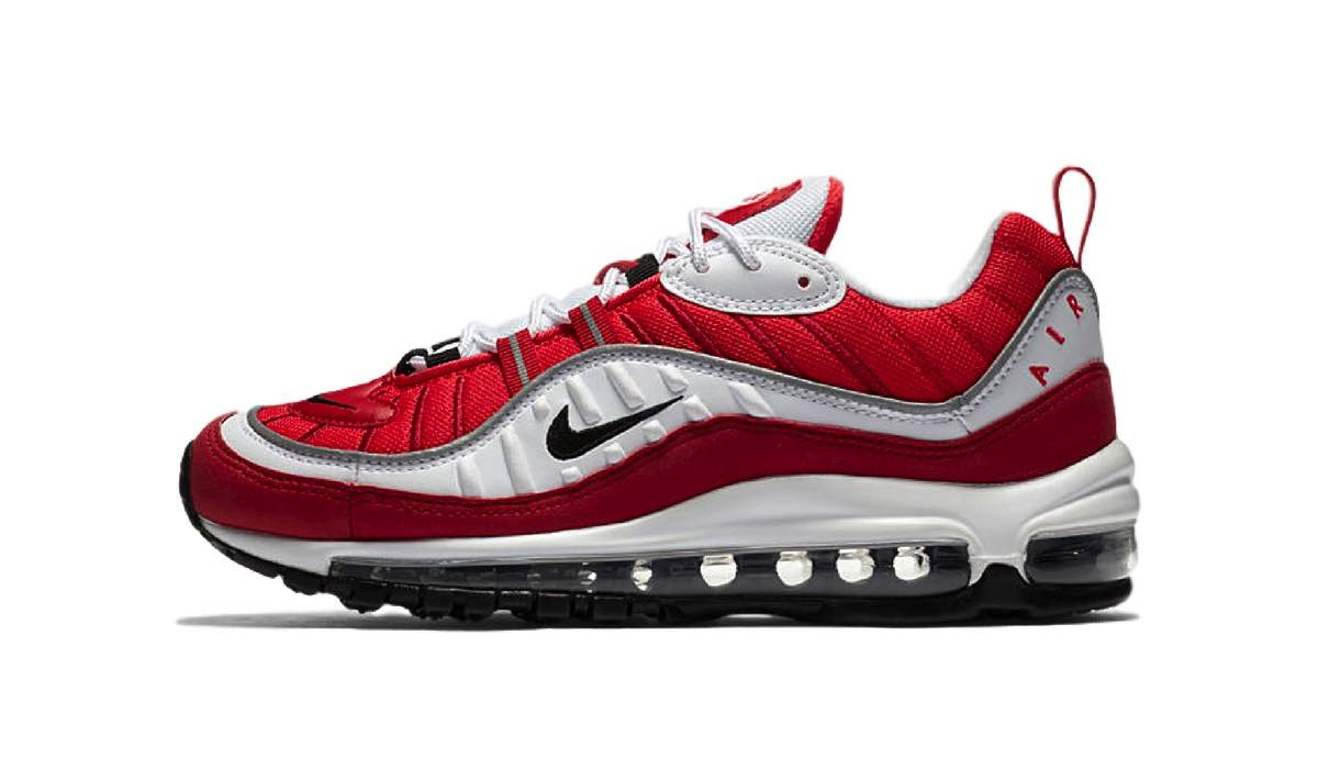 "Nike WMNS Air Max 98 ""Gym Red"" 