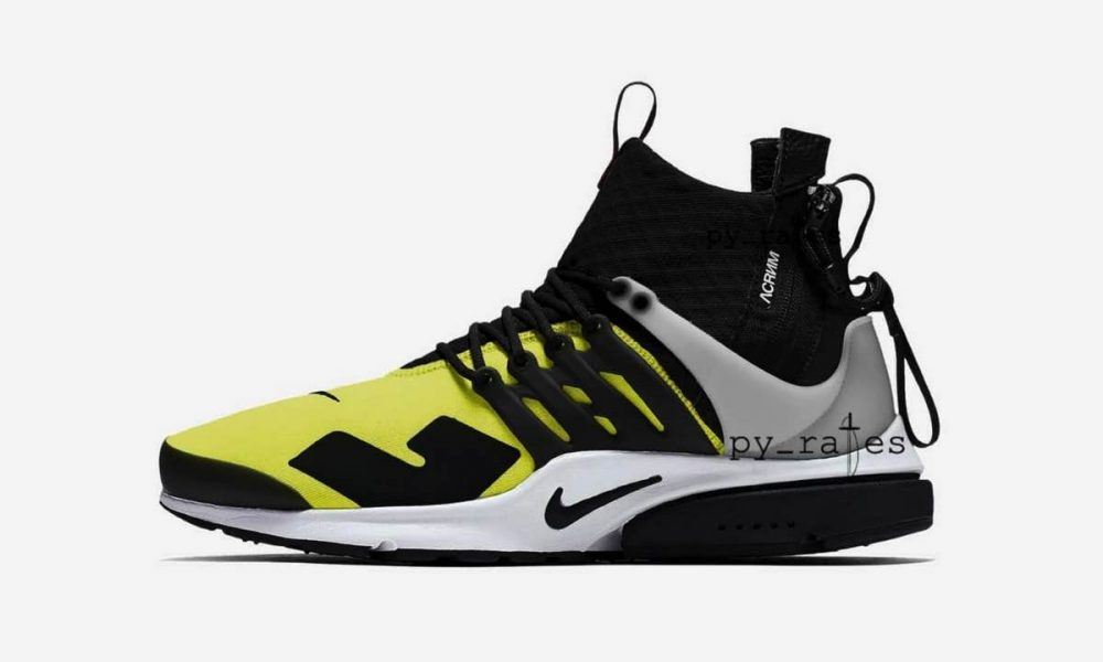 ACRONYM x Nike Air Presto Mid September 2018