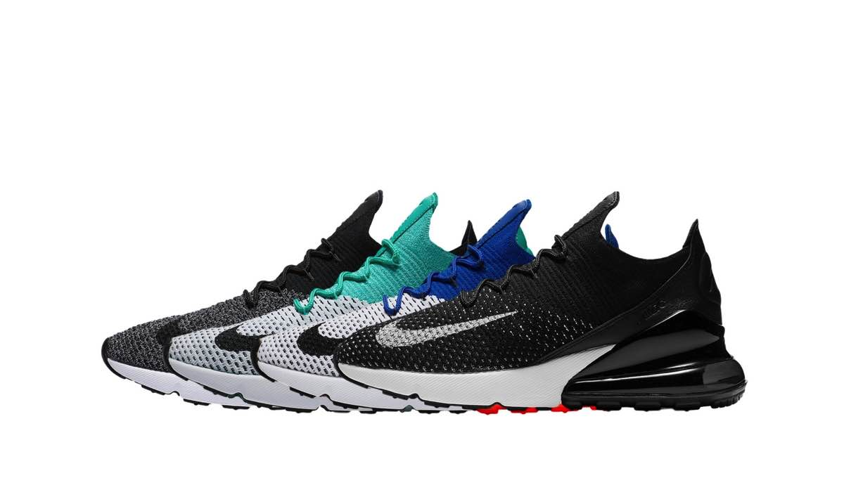Nike Air Max 270 Flyknit Pack