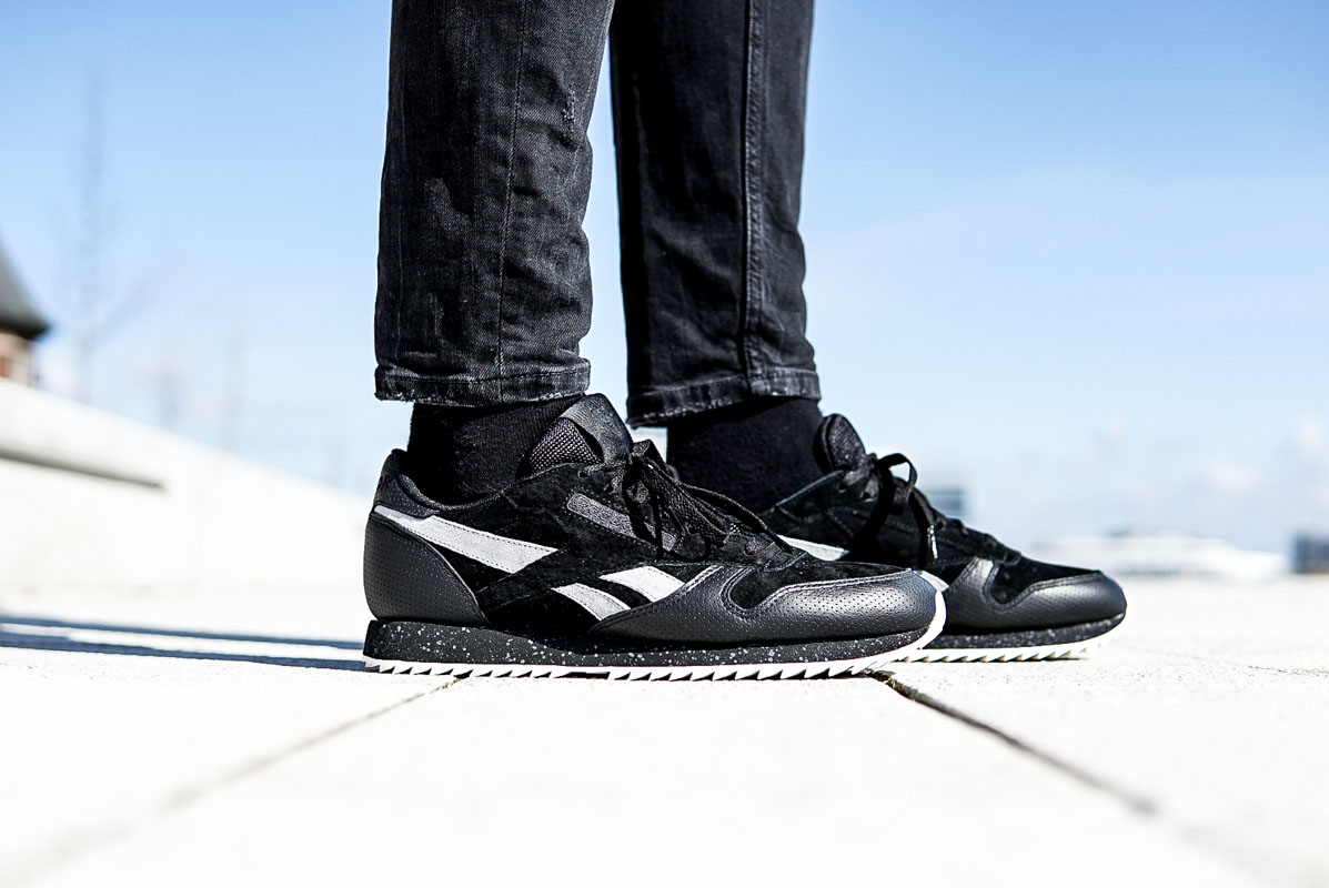 ON FEET | Reebok Classic Leather Ripple SM