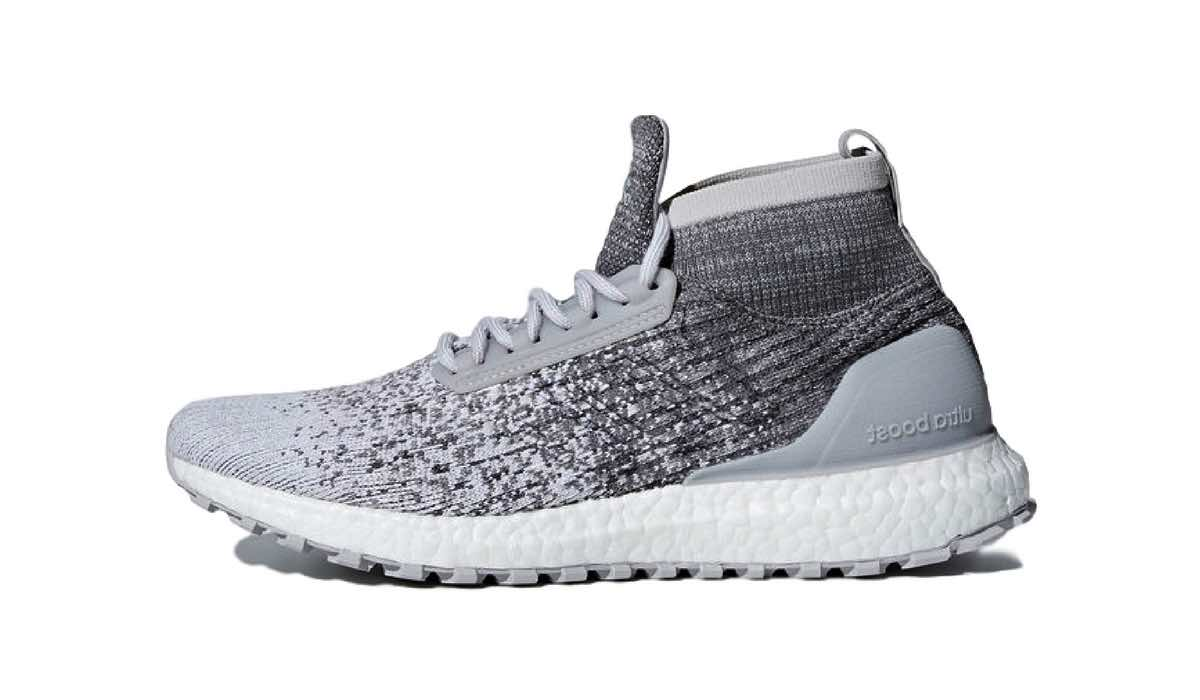 reigning champ x adidas ultra boost all terrain cloud. Black Bedroom Furniture Sets. Home Design Ideas