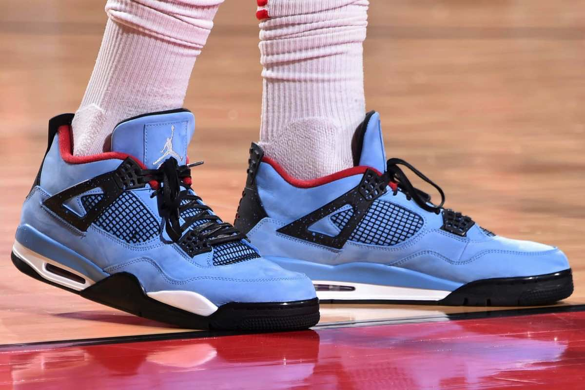 "Sneak Peek: Travis Scott x Air Jordan 4 Retro ""Cactus Jack"""