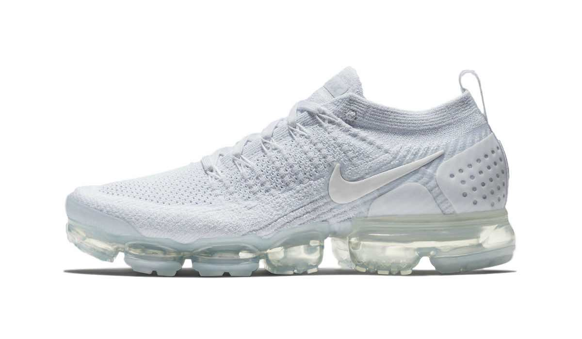 "Nike Air VaporMax Flyknit 2 ""White/Pure Platinum"""