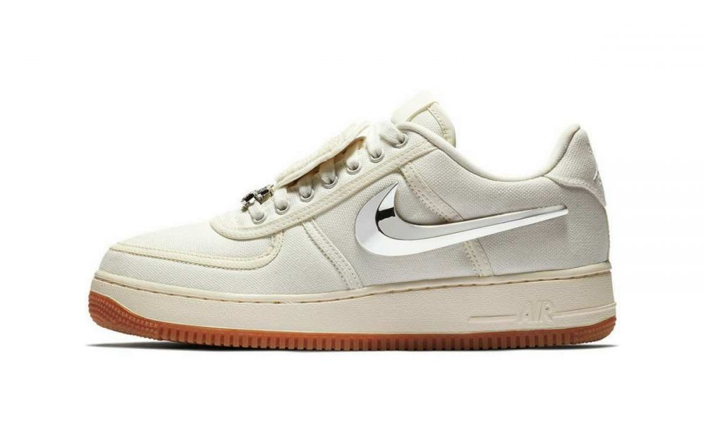 Travis Scott x Nike Air Force 1 Sail Release (3)