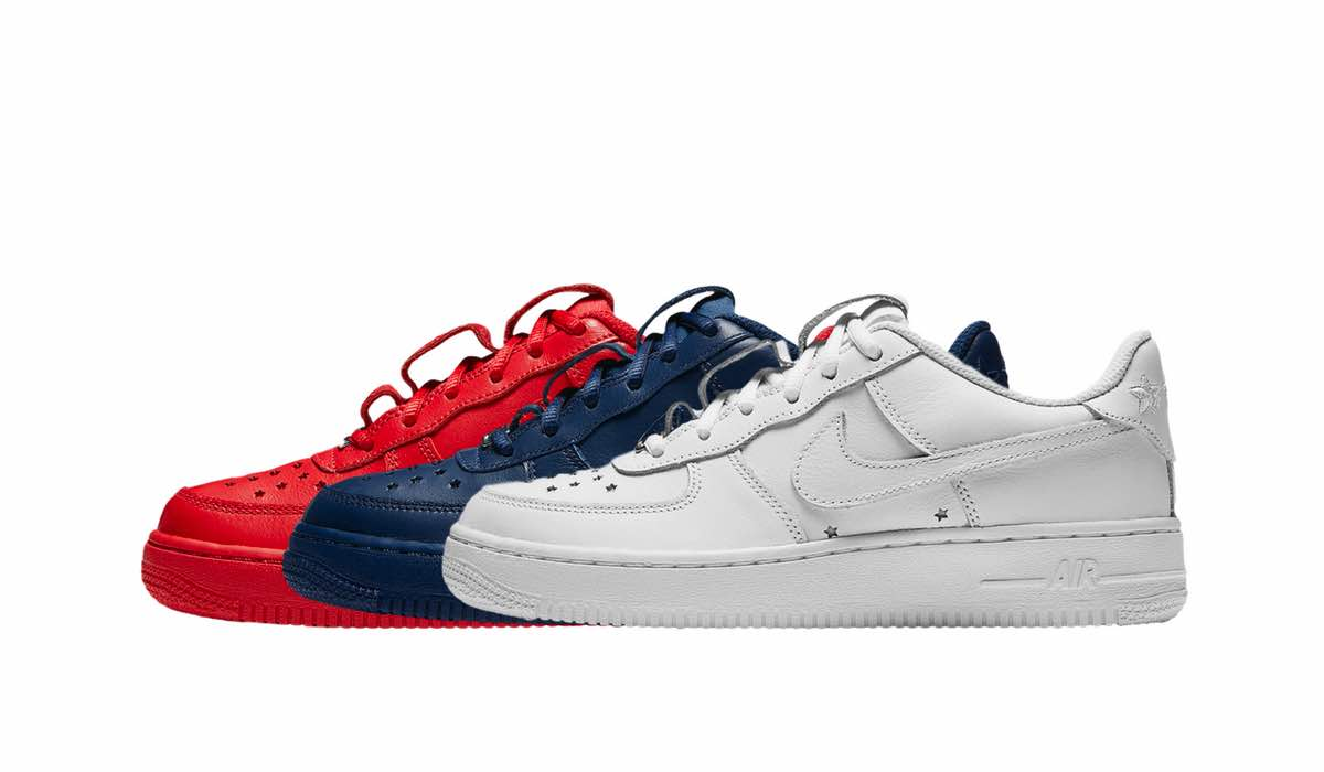 """b4dcf027 Nike Air Force 1 QS """"Independence Day"""" Pack 2018   Sneakerworld.dk"""