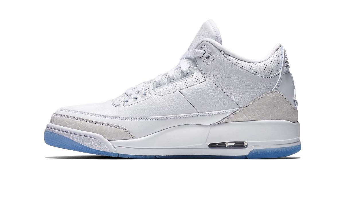 "Nike Air Jordan 3 Retro ""Pure White"""