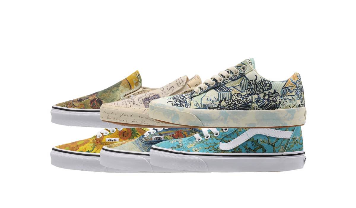 Vincent van Gogh x Vans Collection