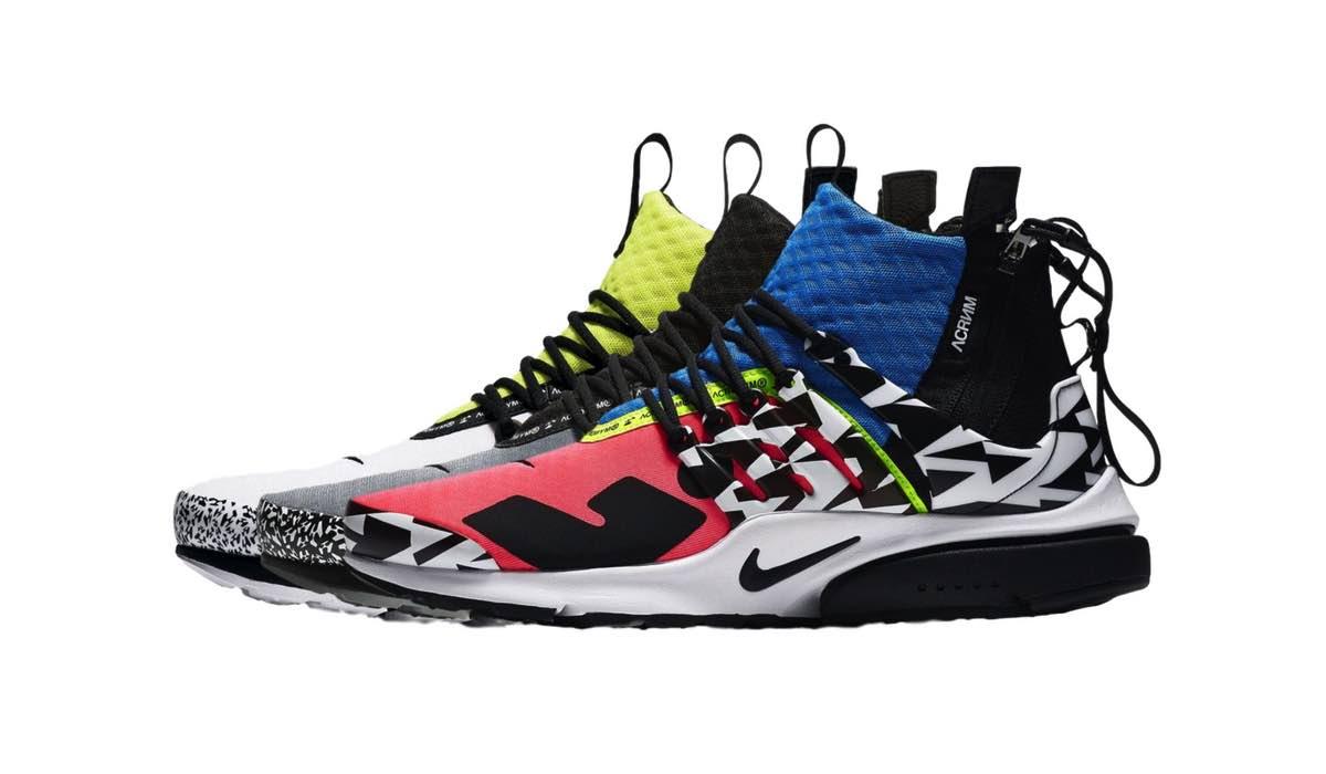 ACRONYM x Nike Air Presto Mid 2.0 Pack