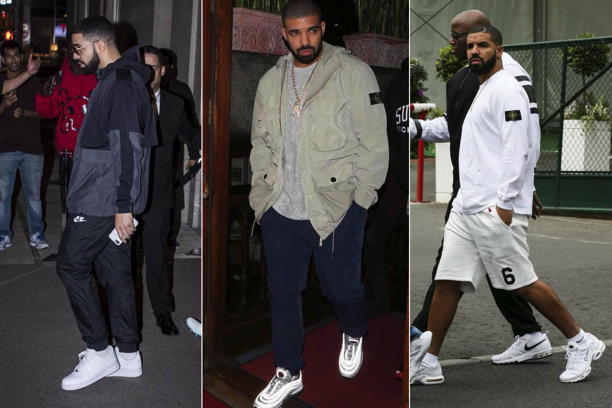 Guide: Drakes 8 foretrukne Nike Air-sneakers