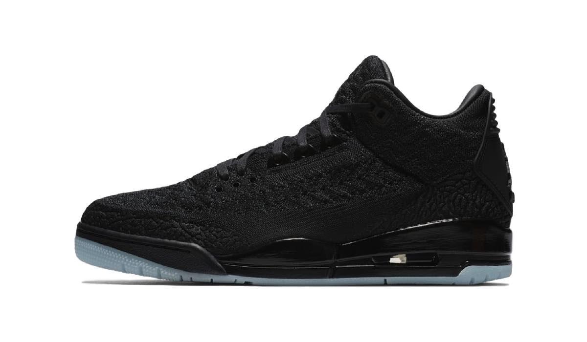 """Nike Air Jordan 3 Flyknit """"Black/Anthracite"""""""