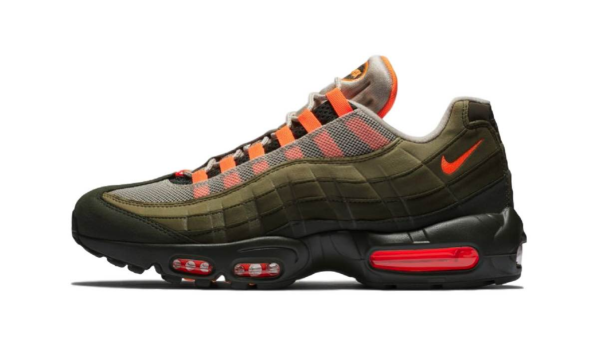 """Nike Air Max 95 OG """"Total Orange/Olive"""""""