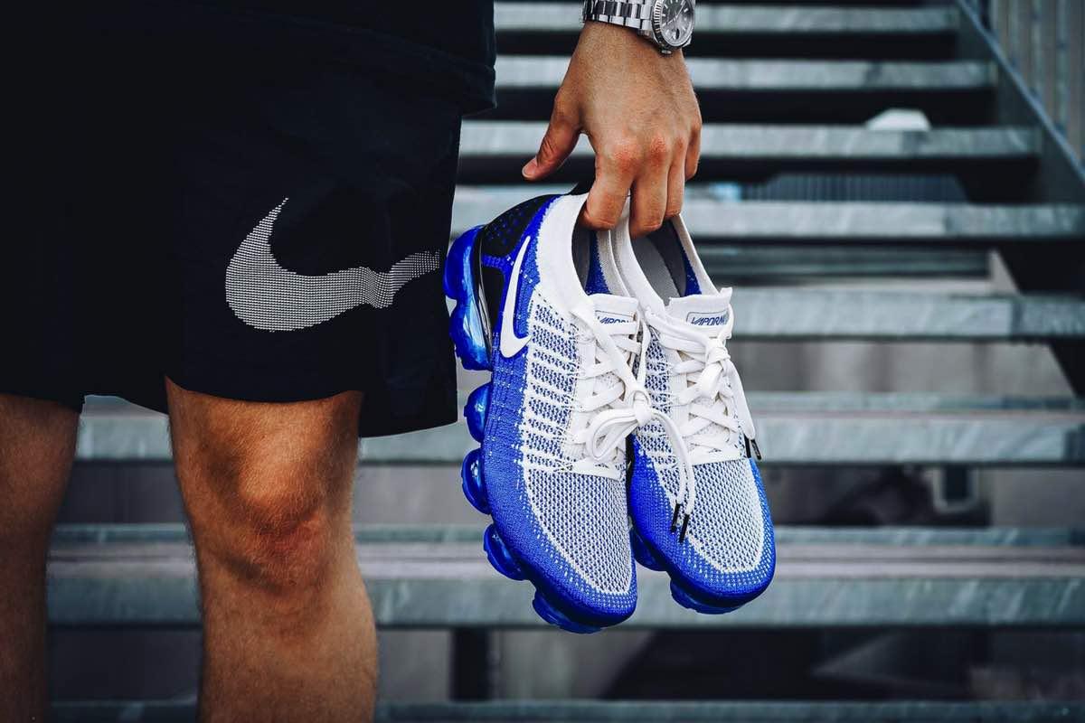 """Nike overgår sig selv med ny VaporMax 2 """"Racer Blue"""""""