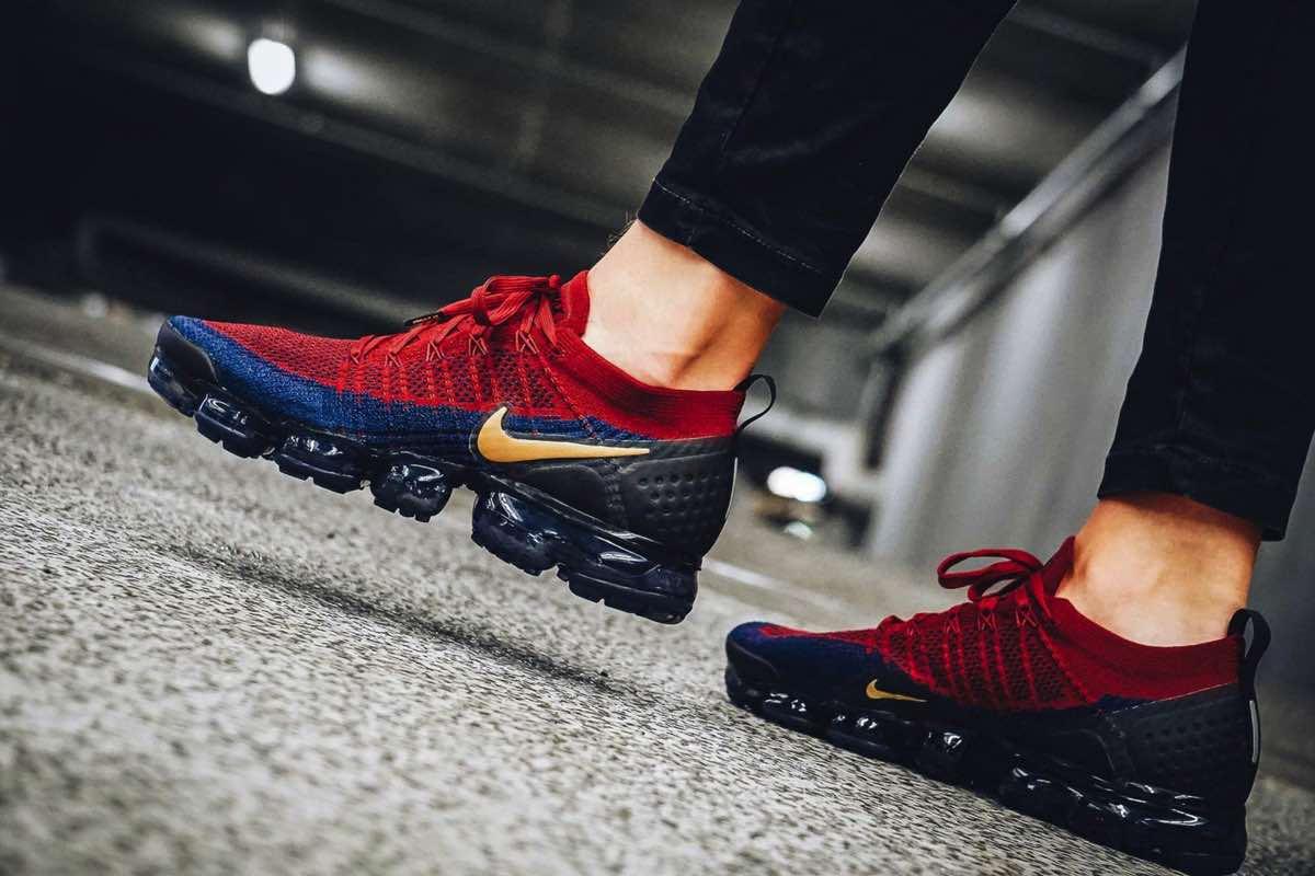 Nike klæder VaporMax i Barcelona-farver