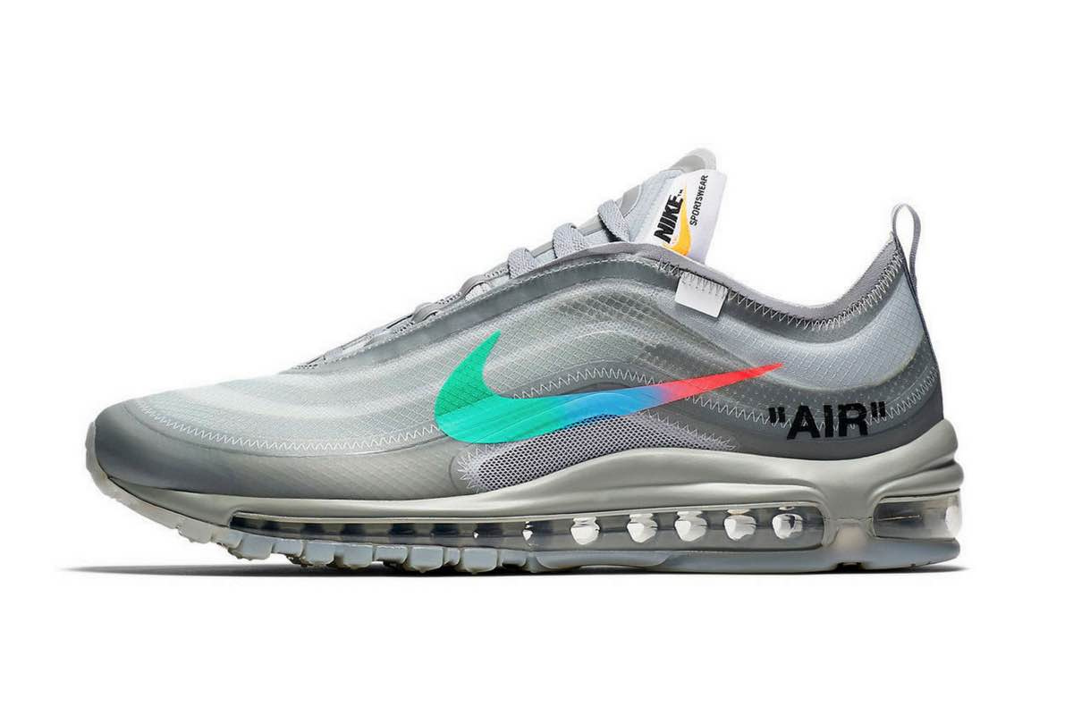 "Sneak Peek: Off-White x Nike Air Max 97 ""Menta"""
