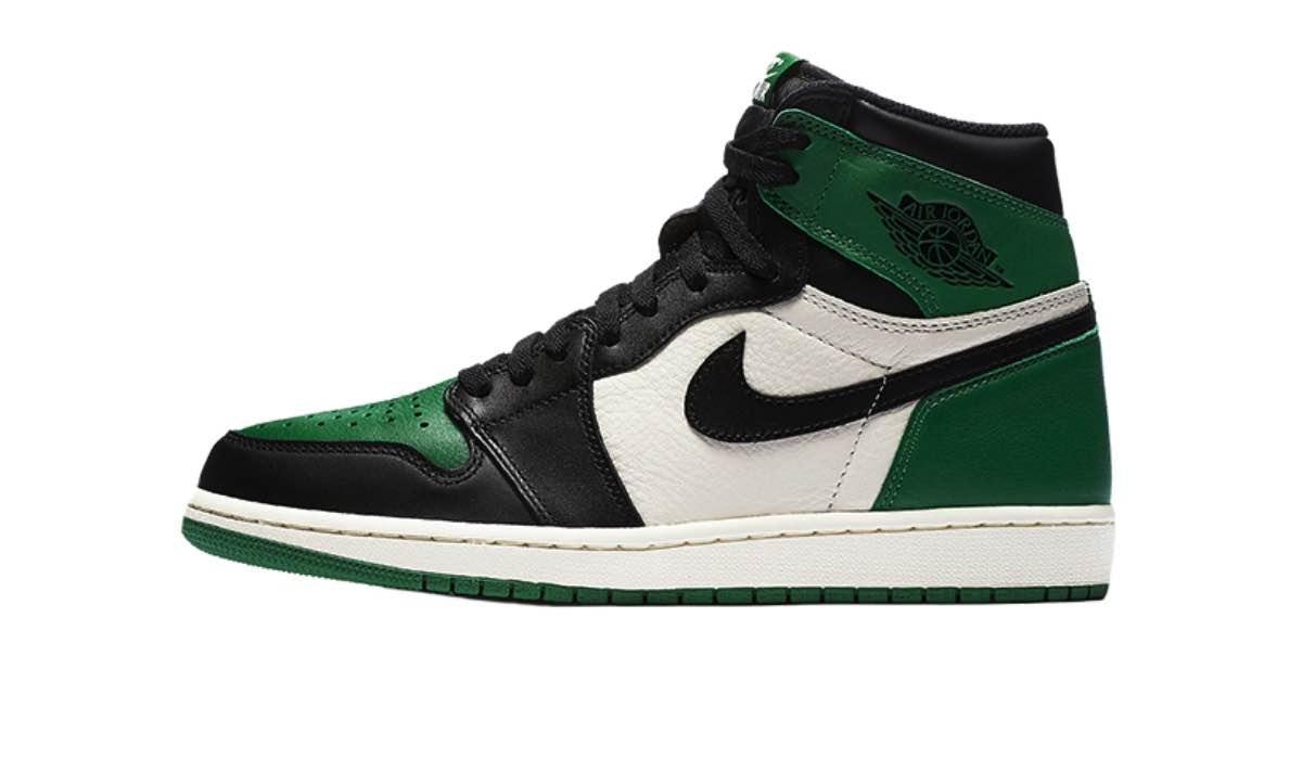 "Nike Air Jordan 1 Retro High OG ""Pine Green"" | 555088 302"