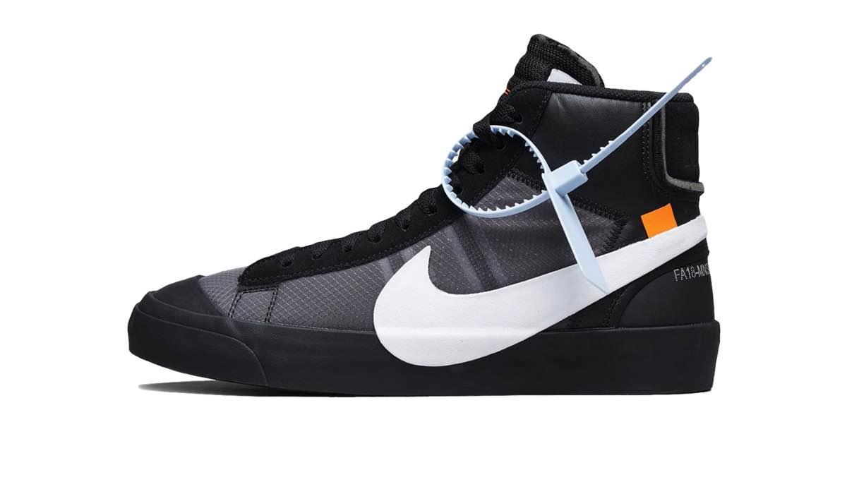 """Off-White x Nike Blazer Mid """"Black/White"""""""