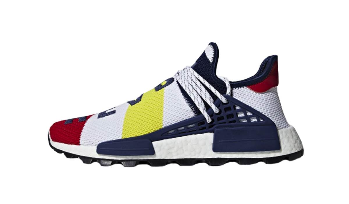 BBC x Pharrell x adidas NMD Human Race Trail red white