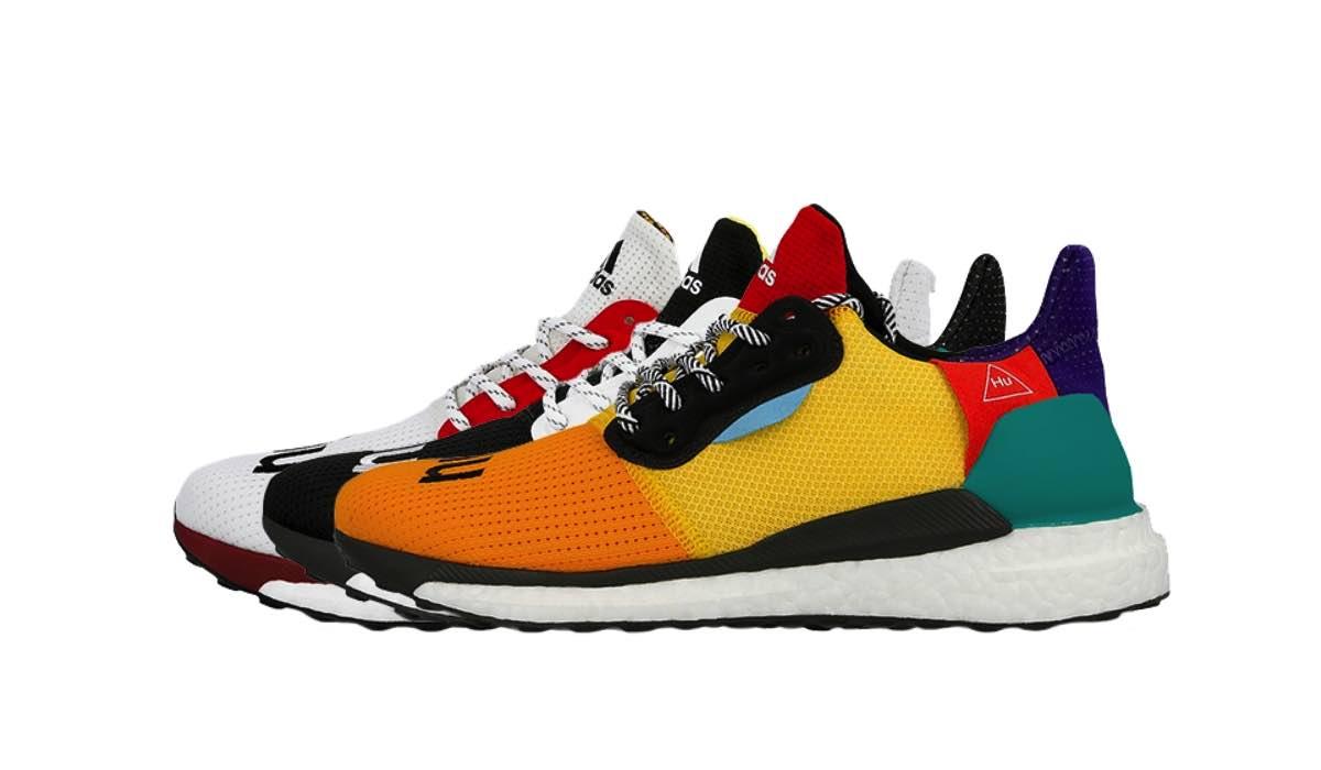 Pharrell x adidas Solar Glide Hu