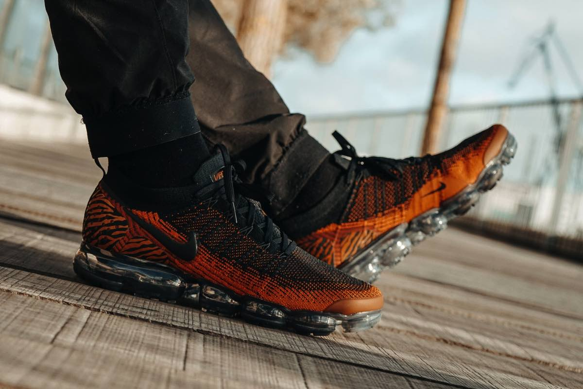 Nike klæder Vapormax Flyknit 2.0 i tigerstriber