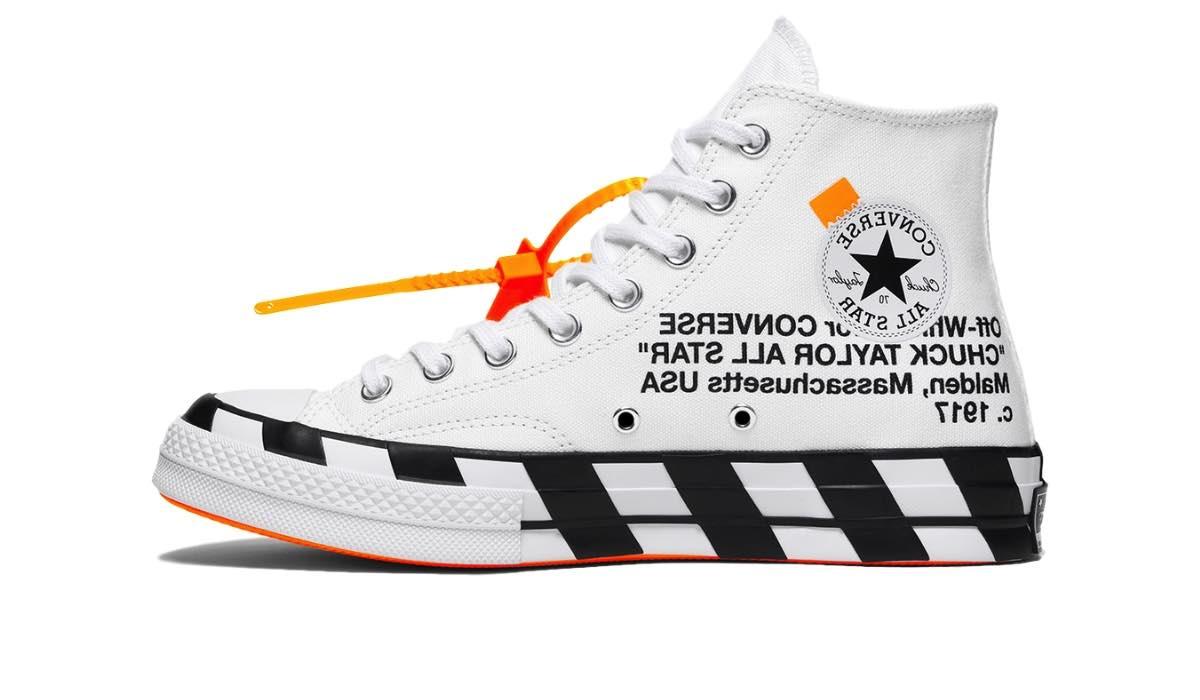 """Off-White x Converse Chuck 70 Stripe """"White"""""""