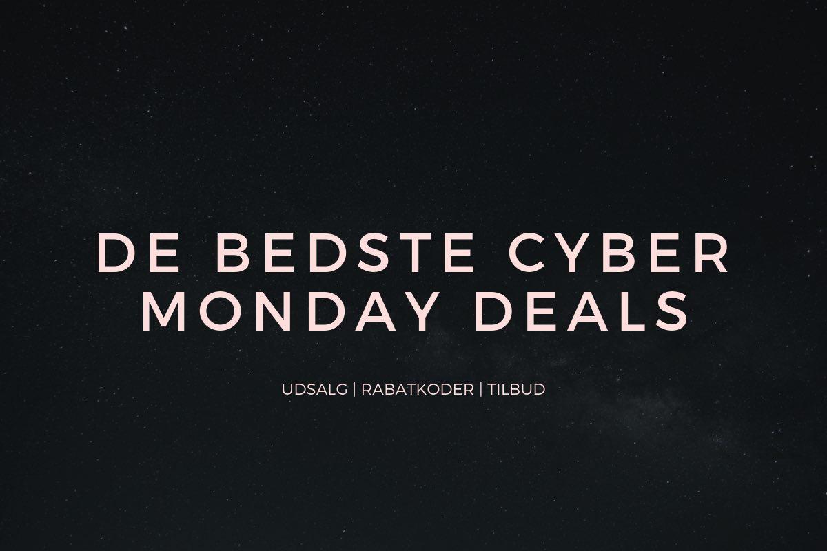 Cyber Monday: Se de bedste deals og rabatkoder her