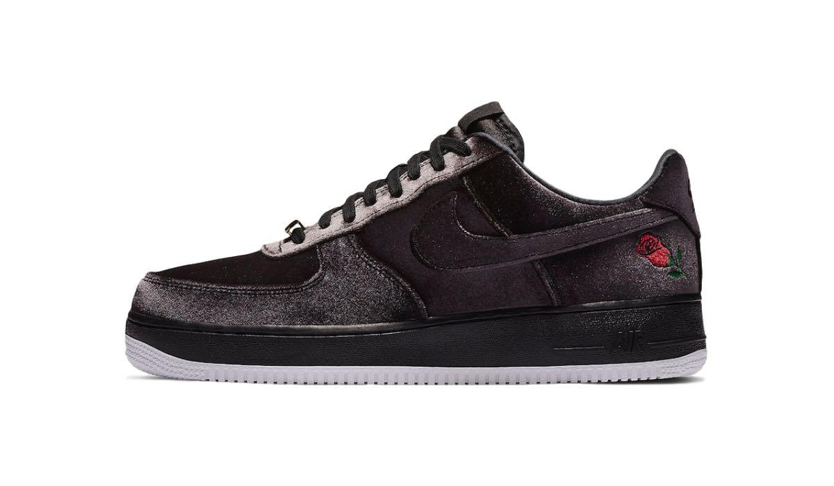 "popular brand get cheap first look Nike Air Force 1 '07 QS ""Black Velvet"" | AH8462-003 ..."