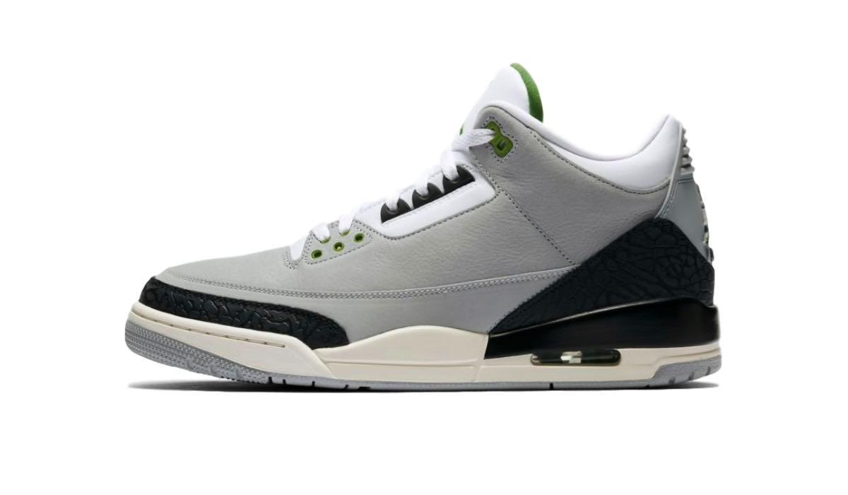 "Nike Air Jordan 3 ""Chlorophyll Tinker"" | 136064 006"