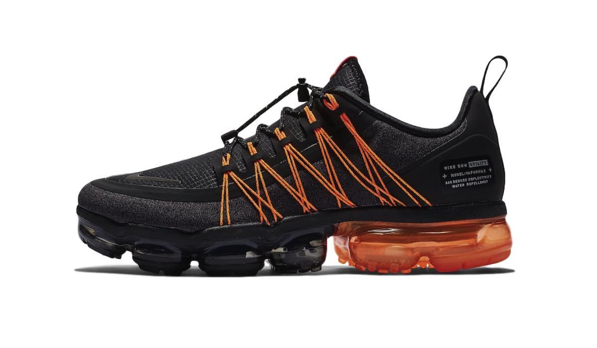 "Nike Air Vapormax Run Utility ""Black/Orange"""