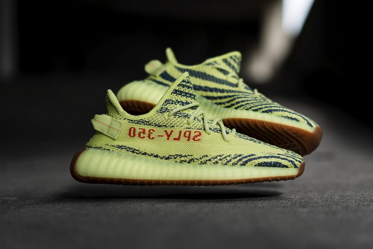 Yeezy Boost 350 V2 Semi Frozen Yellow December 2018 Restock