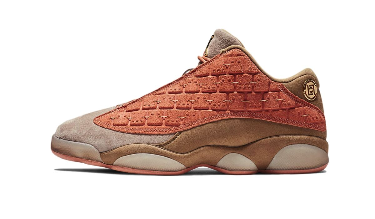 "CLOT x Nike Air Jordan 13 Low ""Terracotta"""