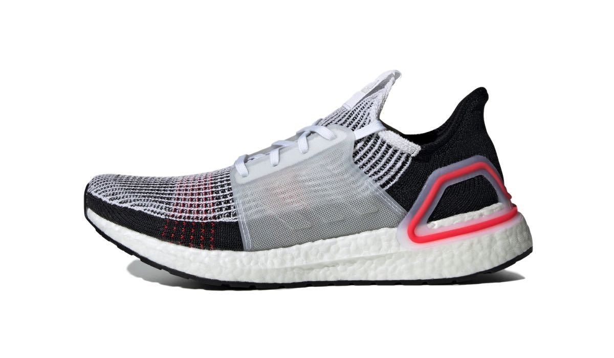 "adidas Ultra Boost 19 ""White/Active Red"""