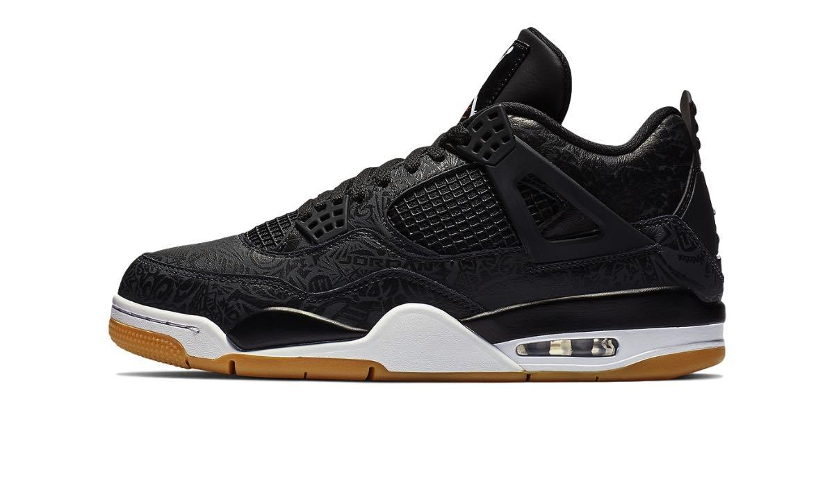 """Nike Air Jordan 4 Retro """"Black Laser"""""""